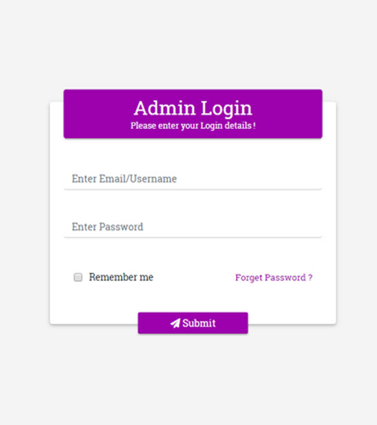 Free Bootstrap 4 Login Page Html Website Template