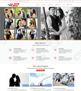Visual Free HTML Studio Website Template Free Download